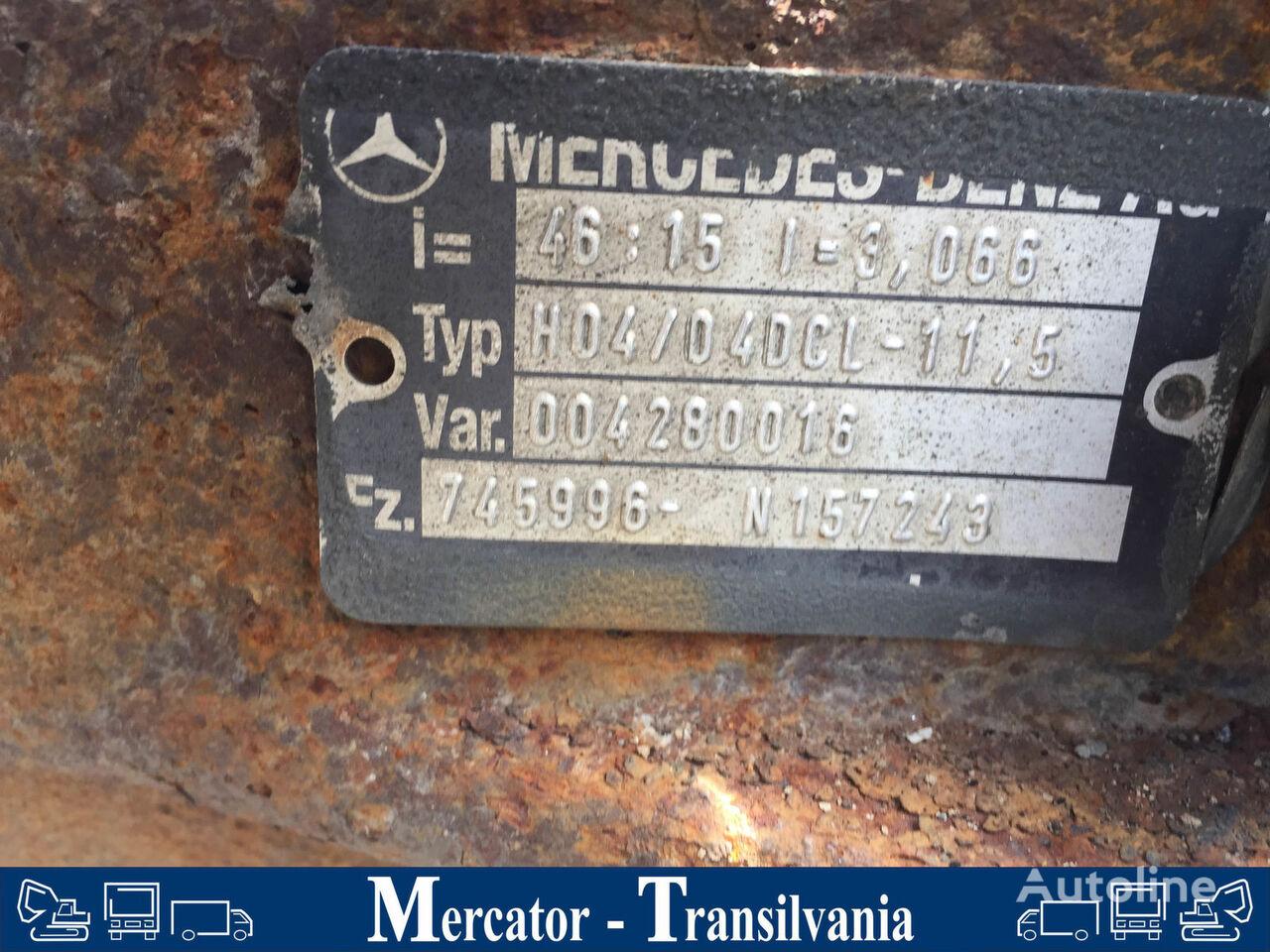 λεωφορείο MERCEDES-BENZ O 404 για άξονας MERCEDES-BENZ H04/ 04 DCL - 11,5