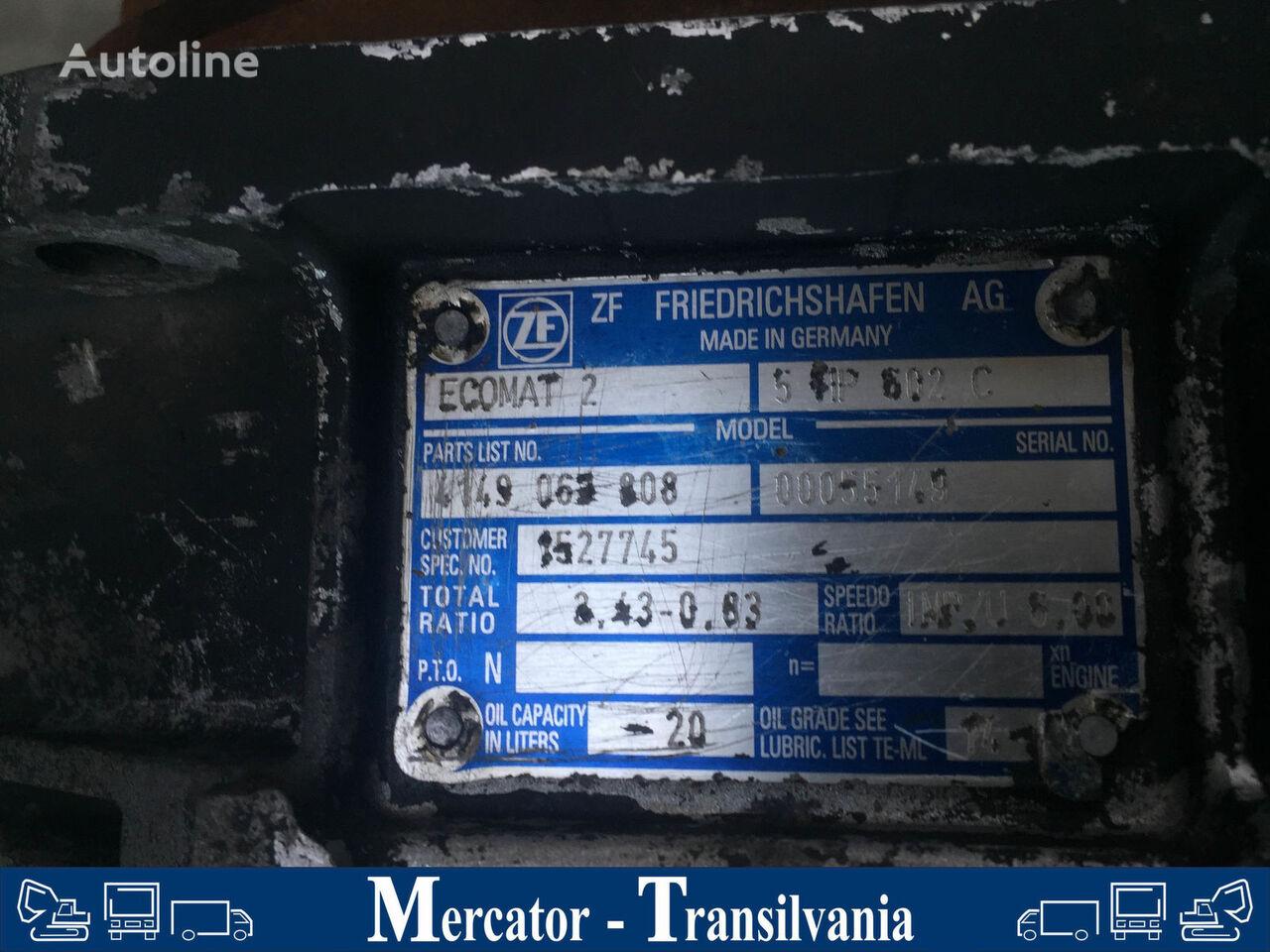 λεωφορείο SCANIA Irizar για κιβώτιο ταχυτήτων ZF 5 HP 602 C