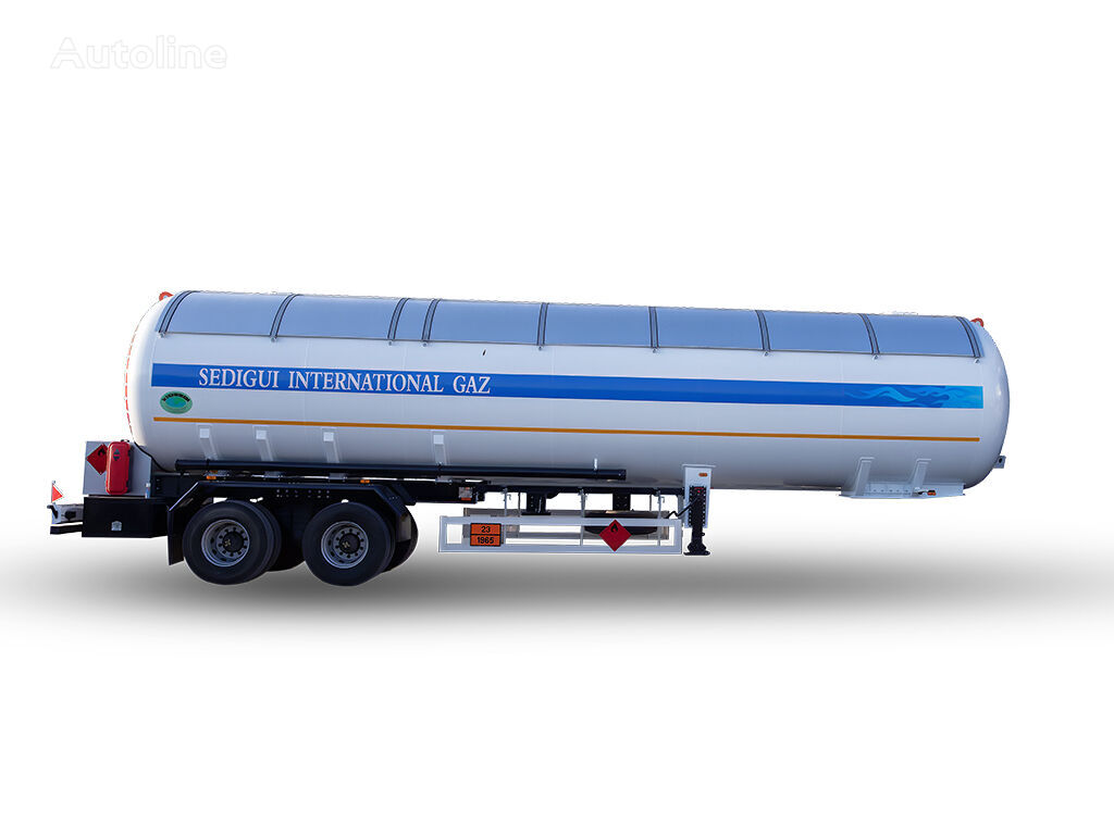 δεξαμενή αερίου YILTEKS NEW DESIGN 57 M3 SEMI TRAILER