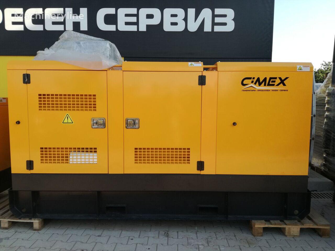 καινούρια άλλο γεννήτρια CIMEX SDG160 165 kVA Generator 6 cylinder stommaggregat