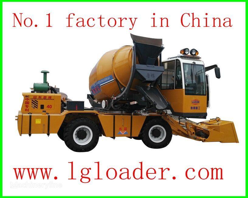 καινούριο αναμεικτήρας μεταφοράς σκυροδέματος (Βαρέλα) self loading concrete mixer1