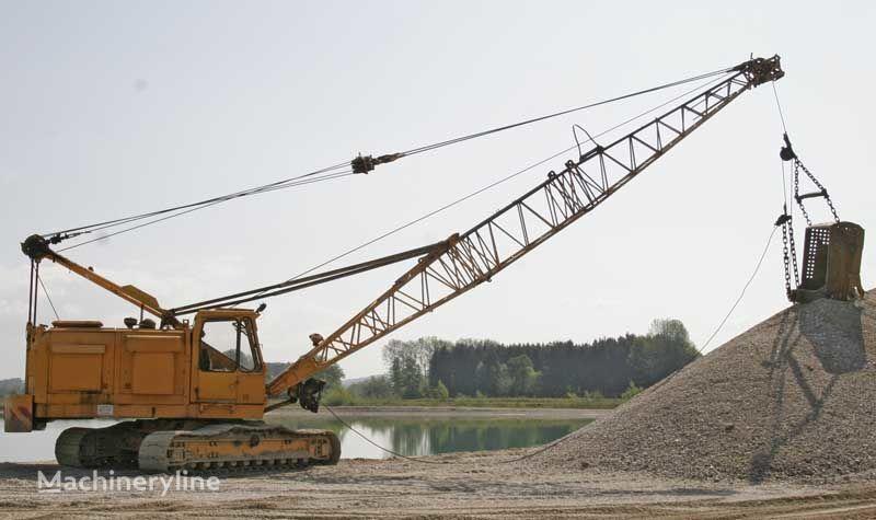 ερπυστριοφόρος γερανός DEMAG B410  Cable excavator / Seilbagger