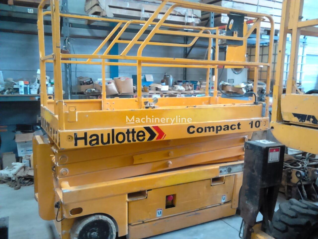 ψαλιδωτός ανυψωτήρας HAULOTTE Compact 10