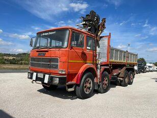 ανατρεπόμενο φορτηγό FIAT IVECO 691 N ribaltabile gru