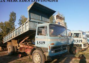 ανατρεπόμενο φορτηγό MERCEDES-BENZ 1519 360 ΟΛΑ ΤΑ ΑΝΤΑΛΑΚΤΙΚΑ '75