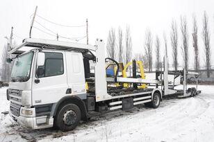 φορτηγό αυτοκινητάμαξα DAF CF 75 360 , E5 , 4x2 ,MEGA , LOHR , retarder , sleep cab + ρυμουλκούμενο αυτοκινητάμαξα