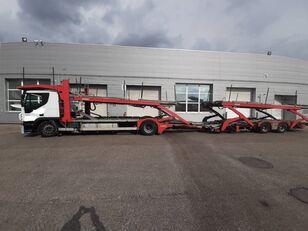φορτηγό αυτοκινητάμαξα IVECO Stralis + ρυμουλκούμενο αυτοκινητάμαξα
