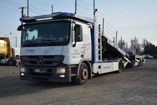 φορτηγό αυτοκινητάμαξα MERCEDES-BENZ ACTROS + ρυμουλκούμενο αυτοκινητάμαξα