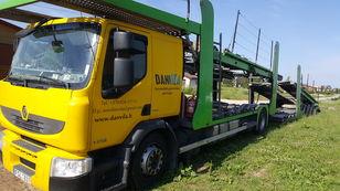 φορτηγό αυτοκινητάμαξα RENAULT Premium 370.18 Euro5 !!! + ρυμουλκούμενο αυτοκινητάμαξα