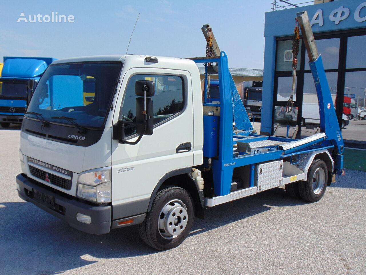 φορτηγό καδοφόρος φορτωτής Mitsubishi Fuso CANTER 7C18