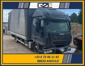 φορτηγό κόφα IVECO EUROCARGO 75E18 *ACCIDENTE*DAMAGED*UNFALL* μετά απο τρακάρισμα