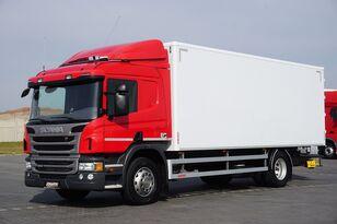 φορτηγό κόφα SCANIA P 250  / E 6 / KONTENER / 17 PALET / ŁAD. 9166 KG / MAŁY PRZEBIE