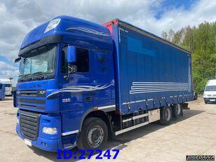 φορτηγό με καρότσα κουρτίνα DAF XF 105.460 - ATE - Euro 5