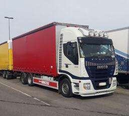 φορτηγό με καρότσα κουρτίνα IVECO Stralis AS260S500  6x2
