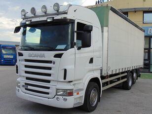φορτηγό με καρότσα κουρτίνα SCANIA R 420 LB