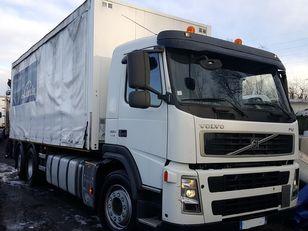 φορτηγό με καρότσα κουρτίνα VOLVO FM 380 6X2 + hiab 144 BS 2 HI DUO