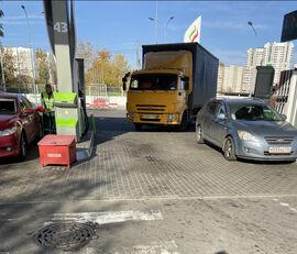φορτηγό με καρότσα κουρτίνα KAMAZ 4308 + ρυμουλκούμενο κουρτίνα