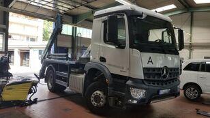φορτηγό μεταφοράς εμπορευματοκιβωτίων MERCEDES-BENZ Arox 1835 Meiller