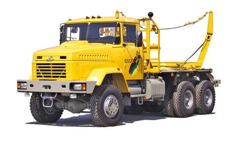 φορτηγό μεταφοράς ξυλείας KRAZ 64372-050