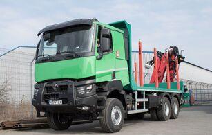 καινούριο φορτηγό μεταφοράς ξυλείας RENAULT K 520 P HEAVY