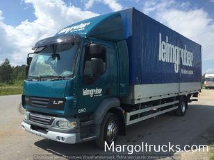 φορτηγό μουσαμάς DAF LF 55 250 plandeka + winda Sprowadzony ze Szwajcarii