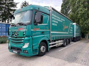φορτηγό μουσαμάς MERCEDES-BENZ 2545 L 6X2 ACTROS / EURO 6