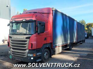 φορτηγό μουσαμάς SCANIA R400,Euro 5, Automat + ρυμουλκούμενο μουσαμάς