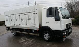 φορτηγό όχημα μεταφοράς παγωτών MAN le 10.180