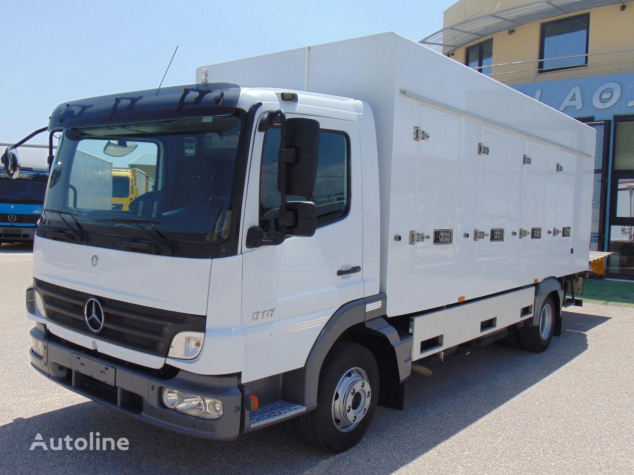 φορτηγό όχημα μεταφοράς παγωτών MERCEDES-BENZ 918 L