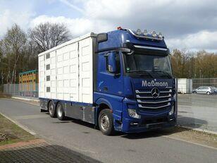 φορτηγό όχημα μεταφοράς ζώων MERCEDES-BENZ Actros 2551 6x2