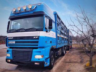 φορτηγό όχημα μεταφοράς ζώων PEZZAIOLI + ρυμουλκούμενο όχημα μεταφοράς ζώων