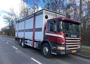 φορτηγό όχημα μεταφοράς ζώων SCANIA 340