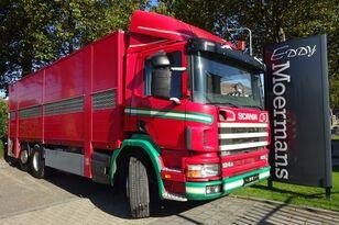 φορτηγό όχημα μεταφοράς ζώων SCANIA P 124G 420 6x2*4