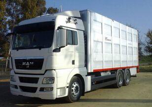 φορτηγό όχημα μεταφοράς ζώων SCANIA R 490