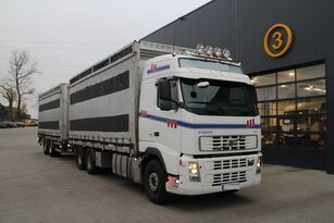 φορτηγό όχημα μεταφοράς ζώων VOLVO FH12.480 CHICKEN TRANSPORTER + ρυμουλκούμενο όχημα μεταφοράς ζώων