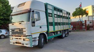 φορτηγό όχημα μεταφοράς ζώων IVECO Eurostar 240E42