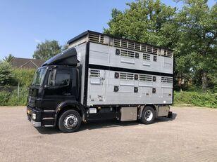 φορτηγό όχημα μεταφοράς ζώων MERCEDES-BENZ Axor Pezzaioli 1/2 stock Veewagen Hefdak