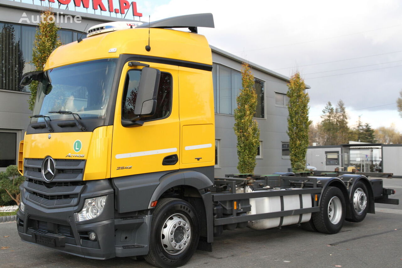 φορτηγό σασί MERCEDES-BENZ ACTROS 2542 MP4 E6 BDF CHASSIS SMALL CABIN