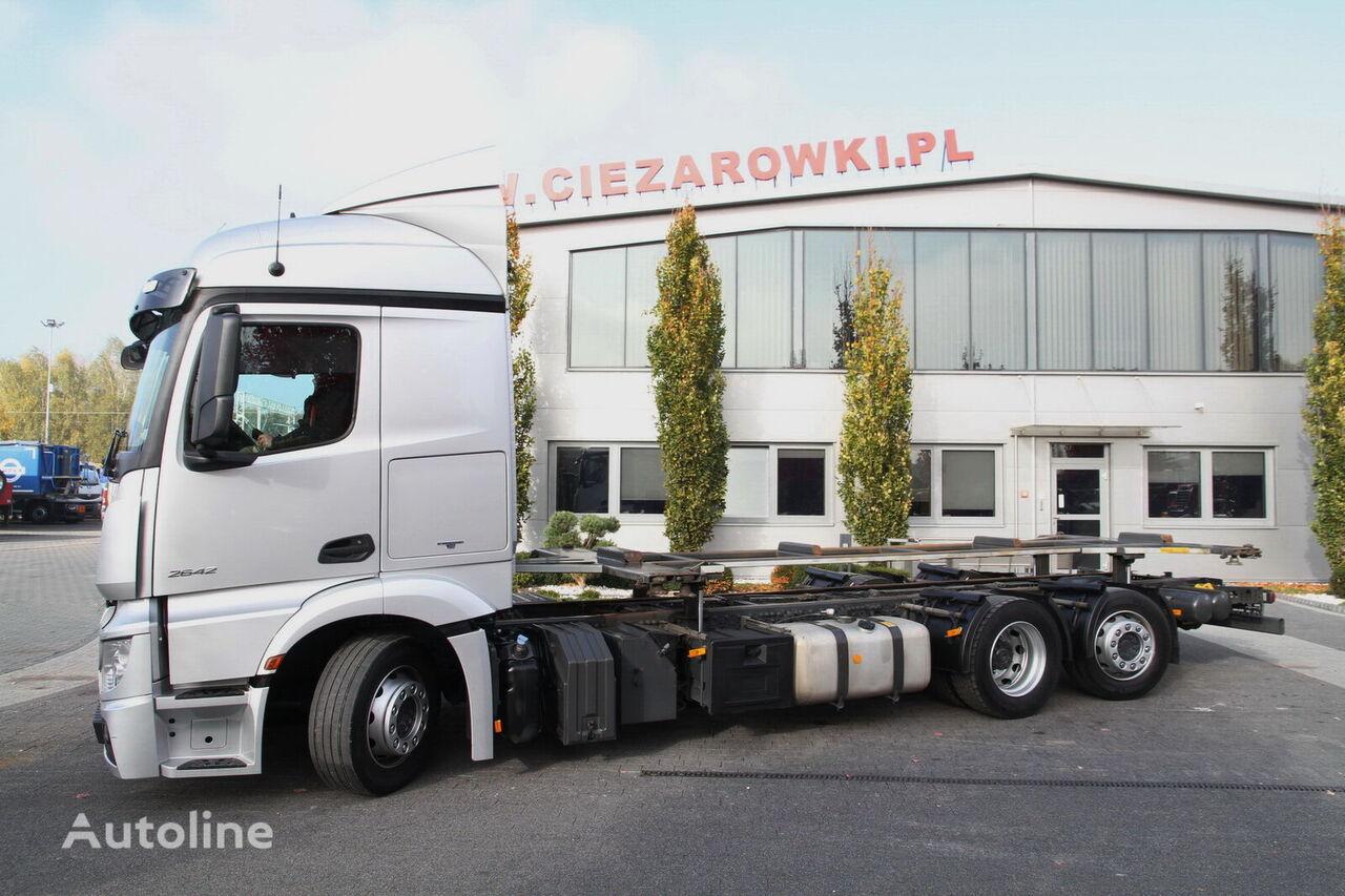 φορτηγό σασί MERCEDES-BENZ ACTROS 2642 MP4 E6 CHASSIS LIFTING FRAME FOR BDF LAST STEERING A