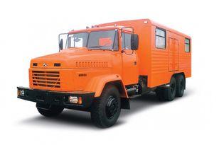 καινούριο φορτηγό στρατιωτικό KRAZ 65053 мастерская