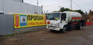 φορτηγό βυτιοφόρο μεταφοράς αερίου ISUZU