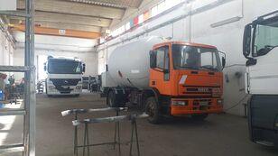 φορτηγό βυτιοφόρο μεταφοράς αερίου IVECO 150E23 LPG/GAS CAPACITY 16000LTR + PUMP + LITERS COUNTER