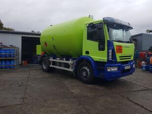 φορτηγό βυτιοφόρο μεταφοράς αερίου IVECO Eurocargo