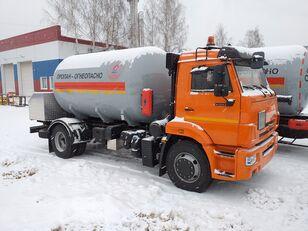 καινούριο φορτηγό βυτιοφόρο μεταφοράς αερίου KAMAZ 45253