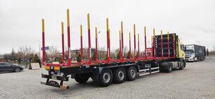 καινούριο ημιρυμουλκούμενο μεταφοράς ξυλείας NOVA NEW TIMBER TRANSPORT SEMI TRAILER