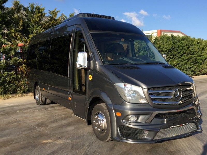 καινούριο μικρό επιβατικό λεωφορείο MERCEDES-BENZ SPRINTER 519 CDi XXL PANORAMA