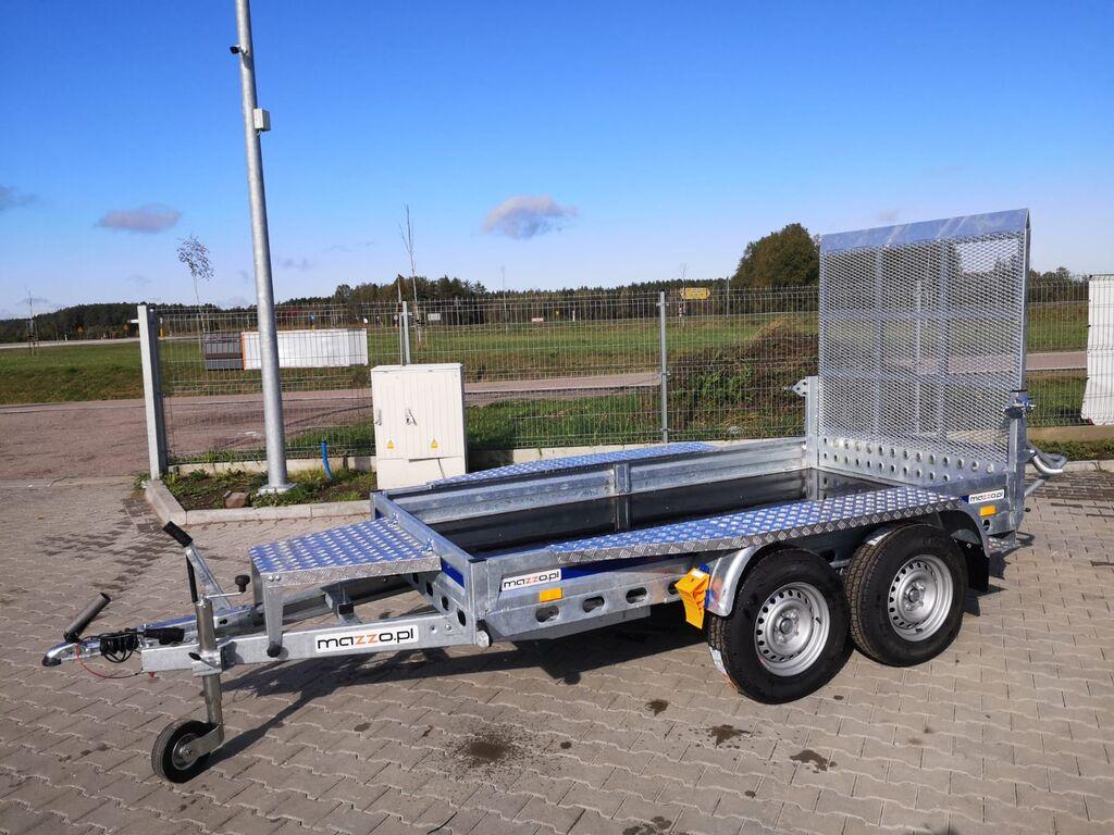 καινούριο ρυμουλκούμενο αυτοκινητάμαξα Wiola B2630 Plant trailer for mini excavators builder
