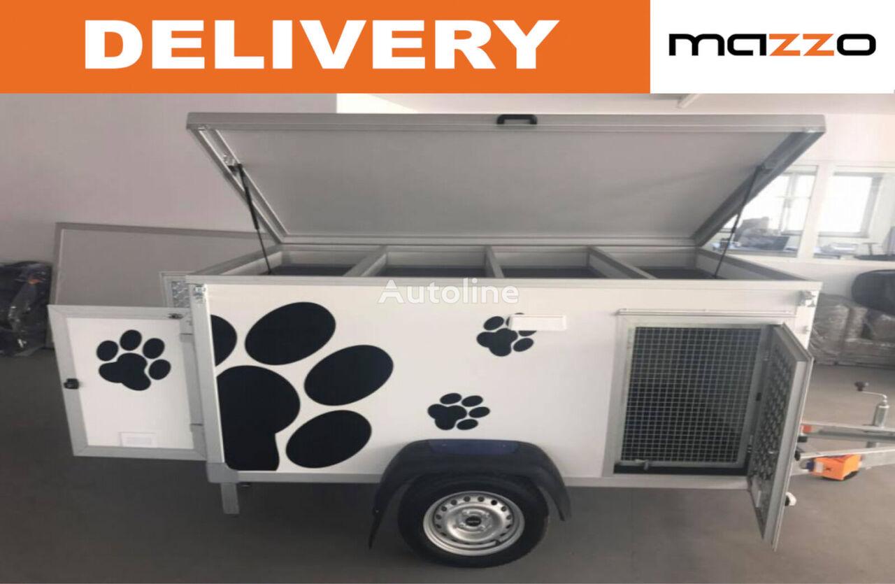 καινούριο ρυμουλκούμενο όχημα μεταφοράς ζώων DOG 3 Light Dog Trailer - for three dogs