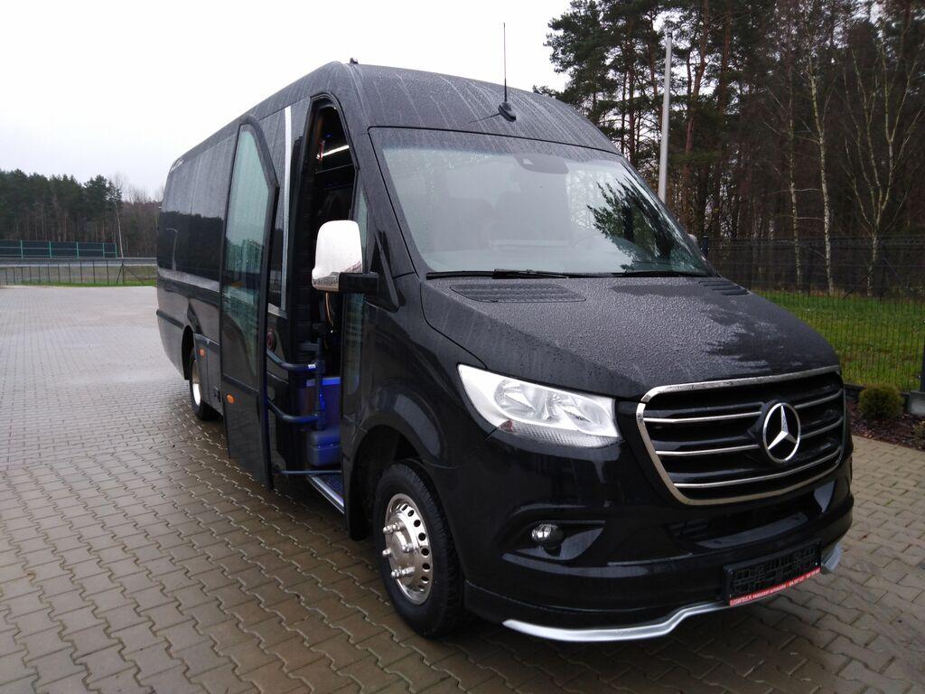 καινούριο τουριστικό λεωφορείο MERCEDES-BENZ 08 Sprinterbus 519 XXXL 24Pl. Komf.Seitl.Ko.VIP