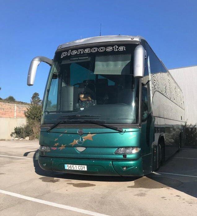 τουριστικό λεωφορείο MERCEDES-BENZ OC500 Noge Touring Alto 3,90m